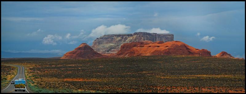 Beautiful Mesa on Hwy 98 south of Page, Az