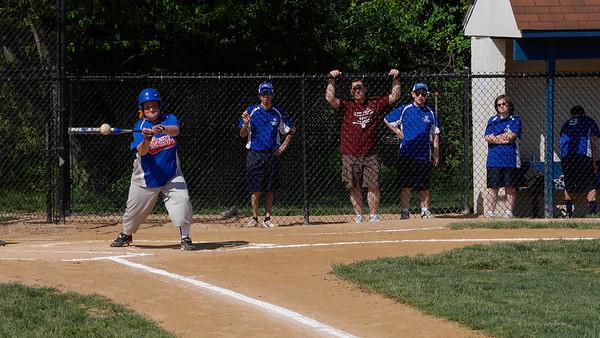 2014 Softball Tournament - Action Shots