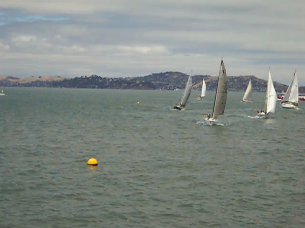 Division B Start. 2012 Pacific Cup Yacht Race. 17 July.