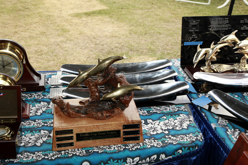 Pacific Cup Trophies