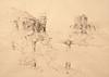 Elloian, Peter - Ink Drawing, 1970