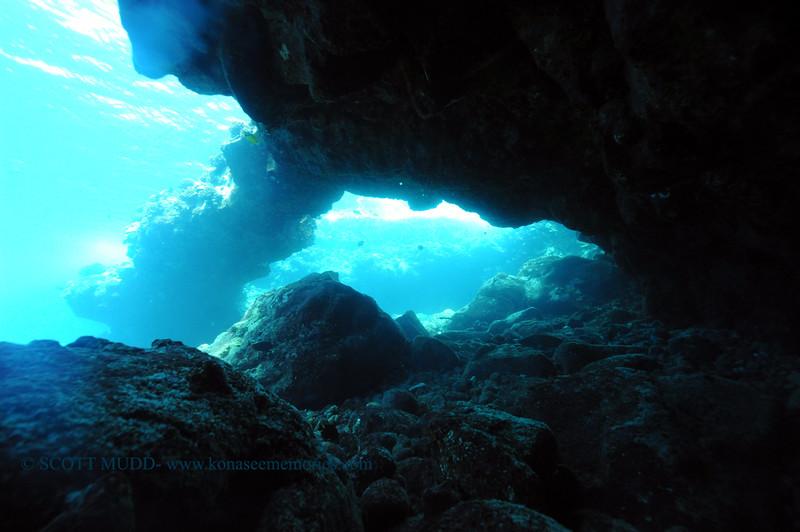 underwater arch (アーチ)