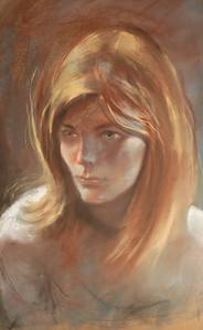 Pastel portrait by Irv Docktor-45