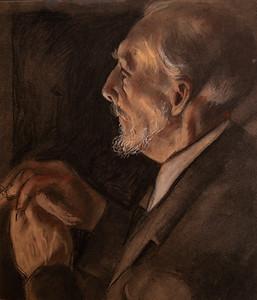 Irv Docktor Pastel Portrait-45
