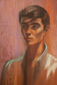 Irv Docktor Pastel Portrait-39