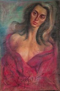 Irv Docktor pastel portrait-15
