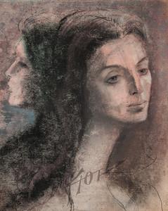 Irv Docktor pastel portrait-20