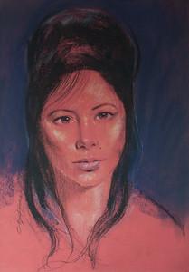 Irv Docktor Pastel Portrait-42