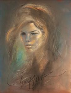 Irv Docktor Pastel Portrait-37