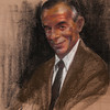 Irv Docktor pastel portrait-36
