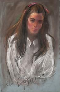 Irv Docktor pastel portrait-2