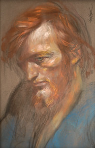 Irv Docktor Pastel Portrait-34