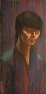 Irv Docktor Pastel Portrait-38