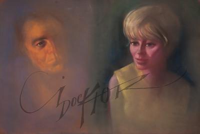 Irv Docktor pastel portrait-4