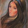 Irv Docktor pastel portrait-27
