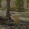 "Tree at River's Edge 11"" x 14"""