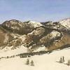 """Our Bridger Mountains  11"""" x 14"""""""