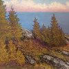 The Fortunate Island #2  9 x 12 Pastel