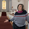 Elizabeth Magill the Pastor of Community Church, a United Methodist Church in Ashburnham talked about the vote the United Methodist Church (as a whole) took at the end of February to ban same-gender marriages and gay clergy members from serving. SENTINEL & ENTERPRISE/JOHN LOVE