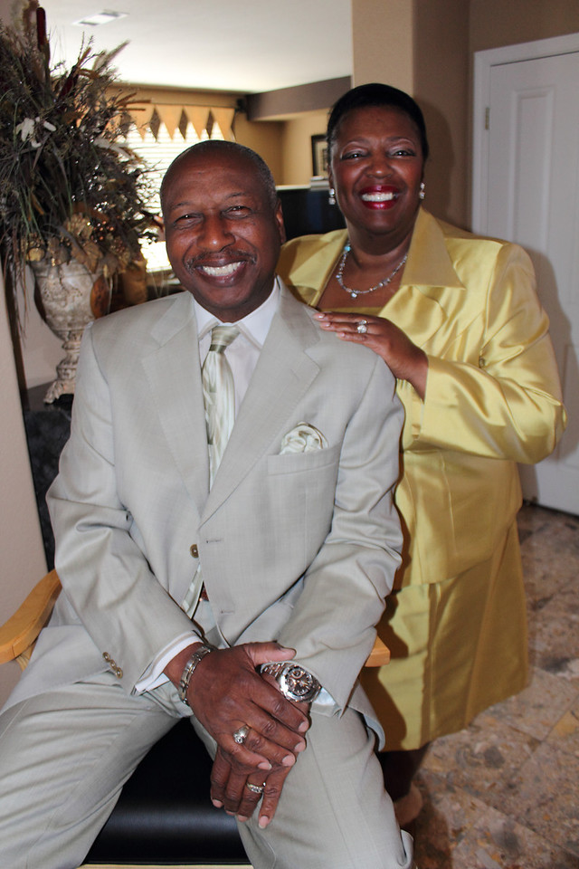 Pastor Oliver and FIrst Lady