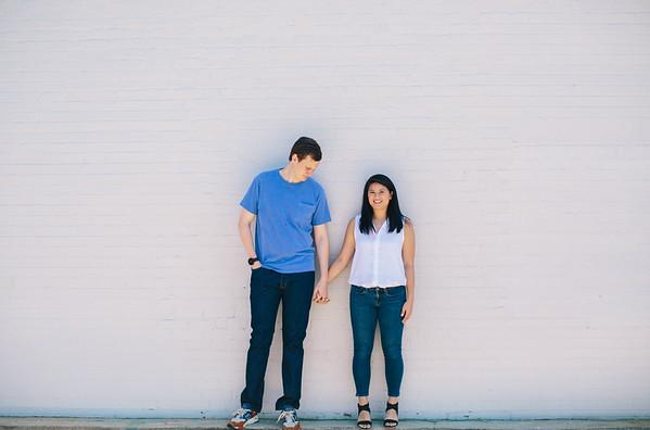 Lee + Christine Engaged