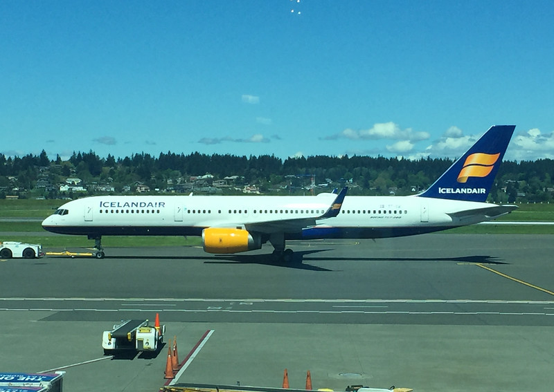 Iceland Air direct flight from PDX to Reykjavik!