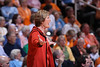 Pat Head Summitt, head coach of the Lady Volunteers, 1000th win vs. Georgia