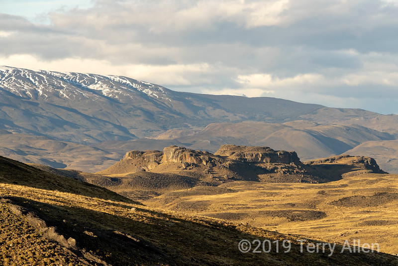 Rocky outcrop, Torres del Paine National Park, Patagonia