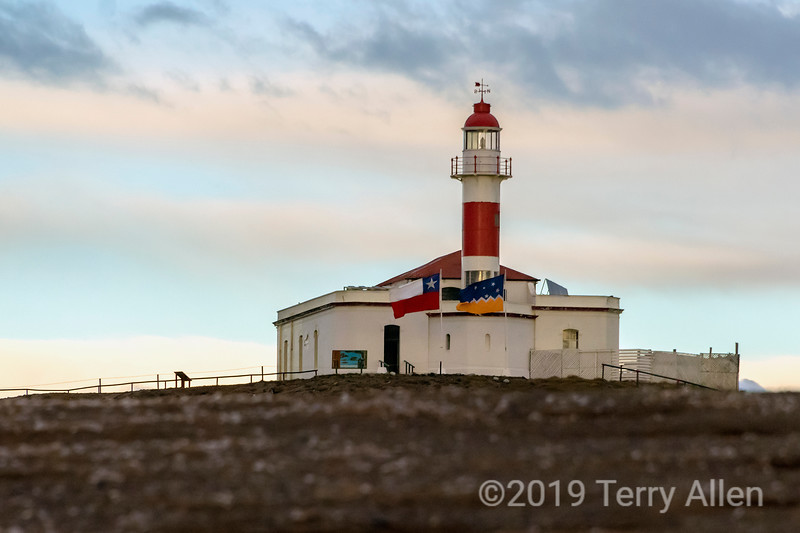 Lighthouse, Isla Magdelana, 1902, Strait of Magellan, Chile