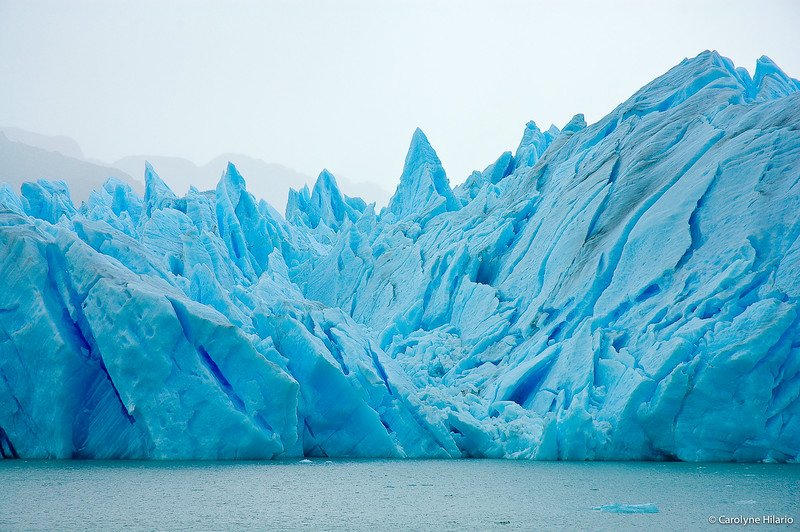 Grey Glacier<br /> Southern Patagonia Ice Field<br /> Chilean Patagonia