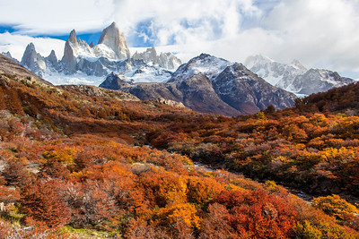 The Mighty Fitz Roy, El Chalten Argentina
