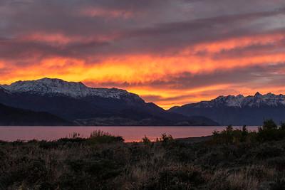 Lago General Carrera Sunrise