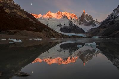 Lago Torre Sunrise, La Luna