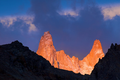 Saint-Exupery & Rafael Towers (Fitz Roy) – Los Glaciares National Park, Patagonia, Argentina