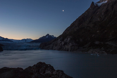 Glacier Grey Sunset