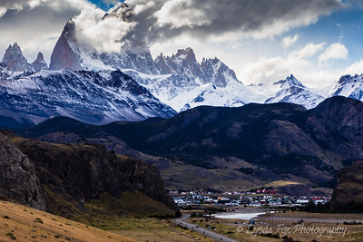 El Chalten Surrounded By Mountains