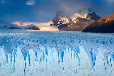 Perito Moreno Glacier Light – Los Glaciares National Park, Patagonia, Argentina