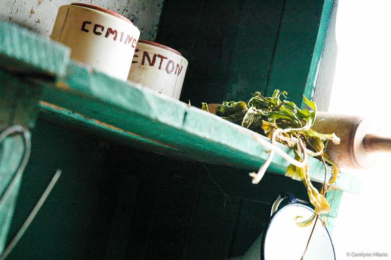 Pantry Things<br /> Estancia Mata Grande<br /> Tierra del Fuego, Chilean Patagonia