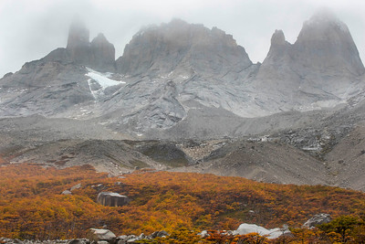 Valle De Frances, Torres Del Paine