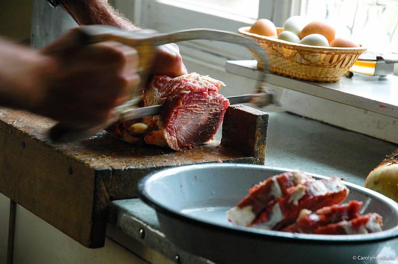 Lamb Chops<br /> Estancia Mata Grande<br /> Tierra del Fuego, Chilean Patagonia