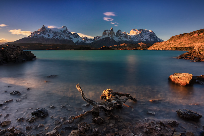 Pehoe Lake, Chile, Torres del Paine