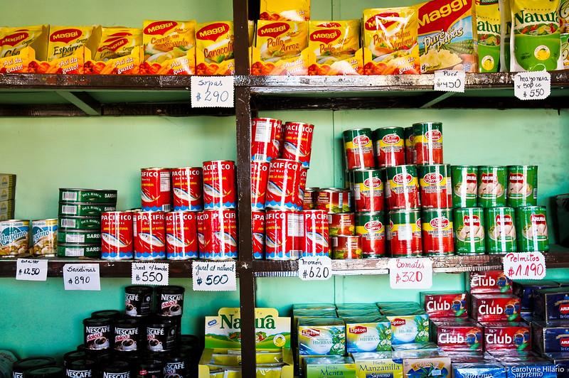 Canned Provisions<br /> Porvenir<br /> Tierra del Fuego, Chilean Patagonia