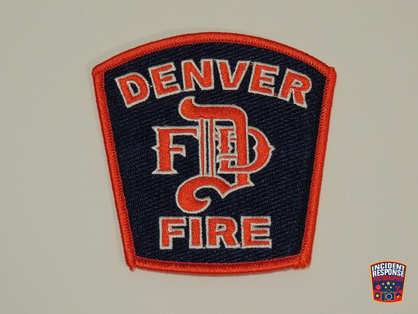 Denver Fire Department Patch