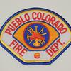 Pueblo Fire Department Patch