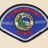 Longmont Fire Department Patch