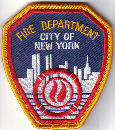 New York Fire Patches
