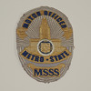Metro-State Special Services Motor Officer Badge Patch