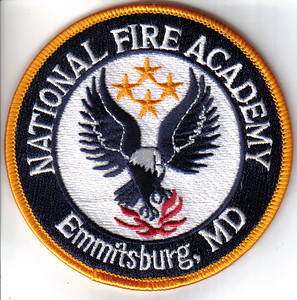 Fire Academy Patches