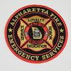 Alpharetta Fire Emergency Services Patch
