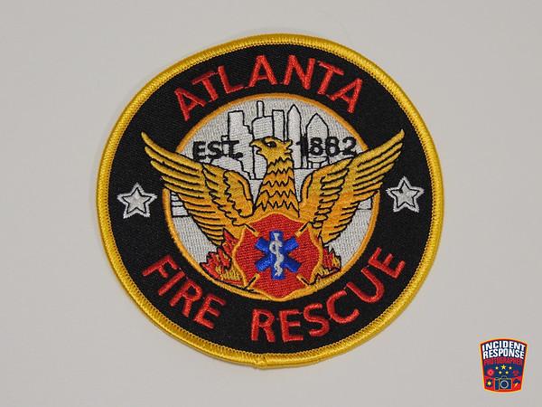 Atlanta Fire Department Patch